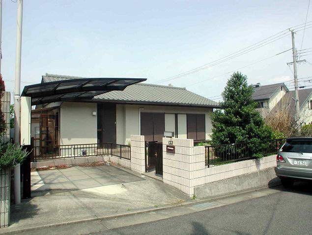 庭付きの平屋建   兵庫県洲本市五色町