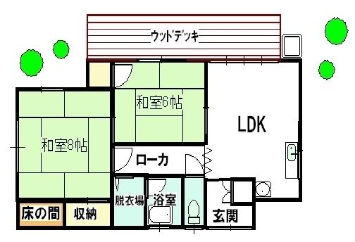 鮎川別荘   福井県鮎川町
