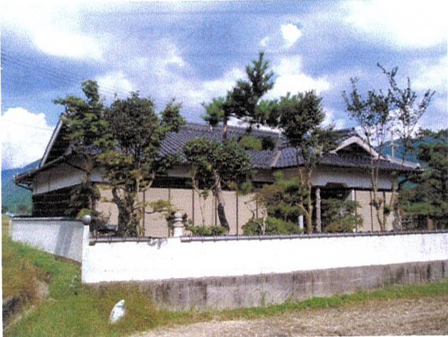 田園の中の和風平家建 1 ホタルと梅花藻の清流の郷・加美、