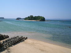 南海白浜の無人島・1島売り物件、プライベートビーチ付き  南海白浜の無人島・
