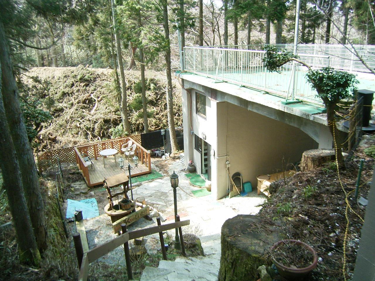 自然豊かな六甲山の椎茸園物件 ◎