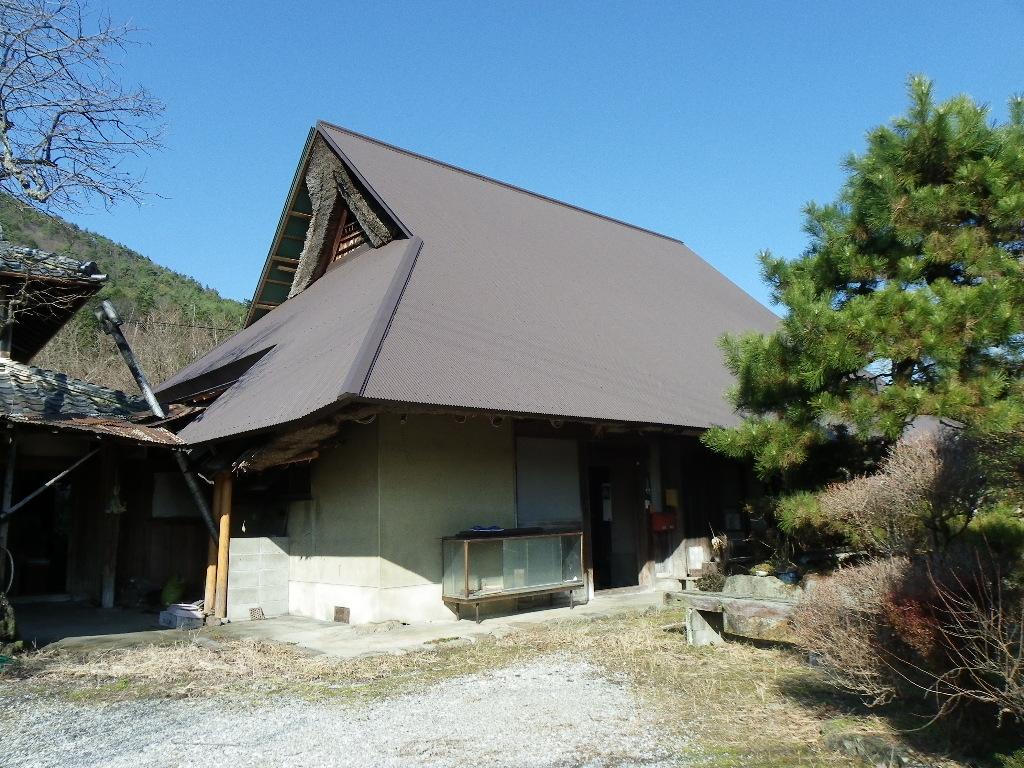 ◎亀岡の草葺古民家、菜園付、集落からの周辺景色良好   ◎