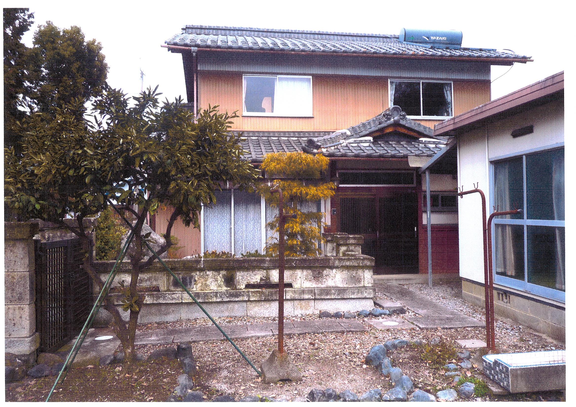 豊郷駅近、和風邸宅、風景の良い菜園付き  ◎