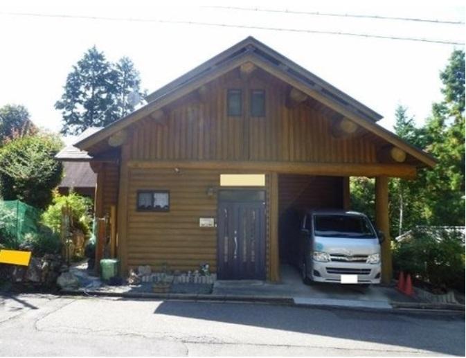 ◆るり渓温泉近隣のログハウス物件、檜風呂有り◆ ◎るり渓温泉近隣のログハウス物件、檜風呂有り◎