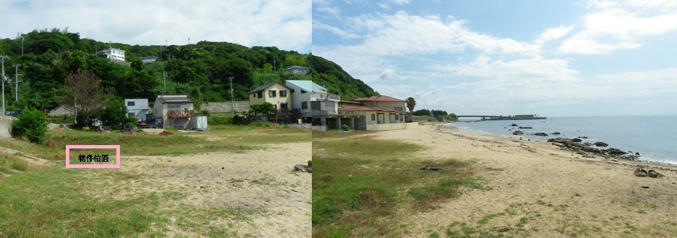 ◆淡路島の眼前に海の広がる角地売り土地、眼前の海をプライベートビーチのように使用可◆ ◎淡路島の眼前に海の広がる角地売り土地、眼前の海をプライベートビーチのように使用可◎