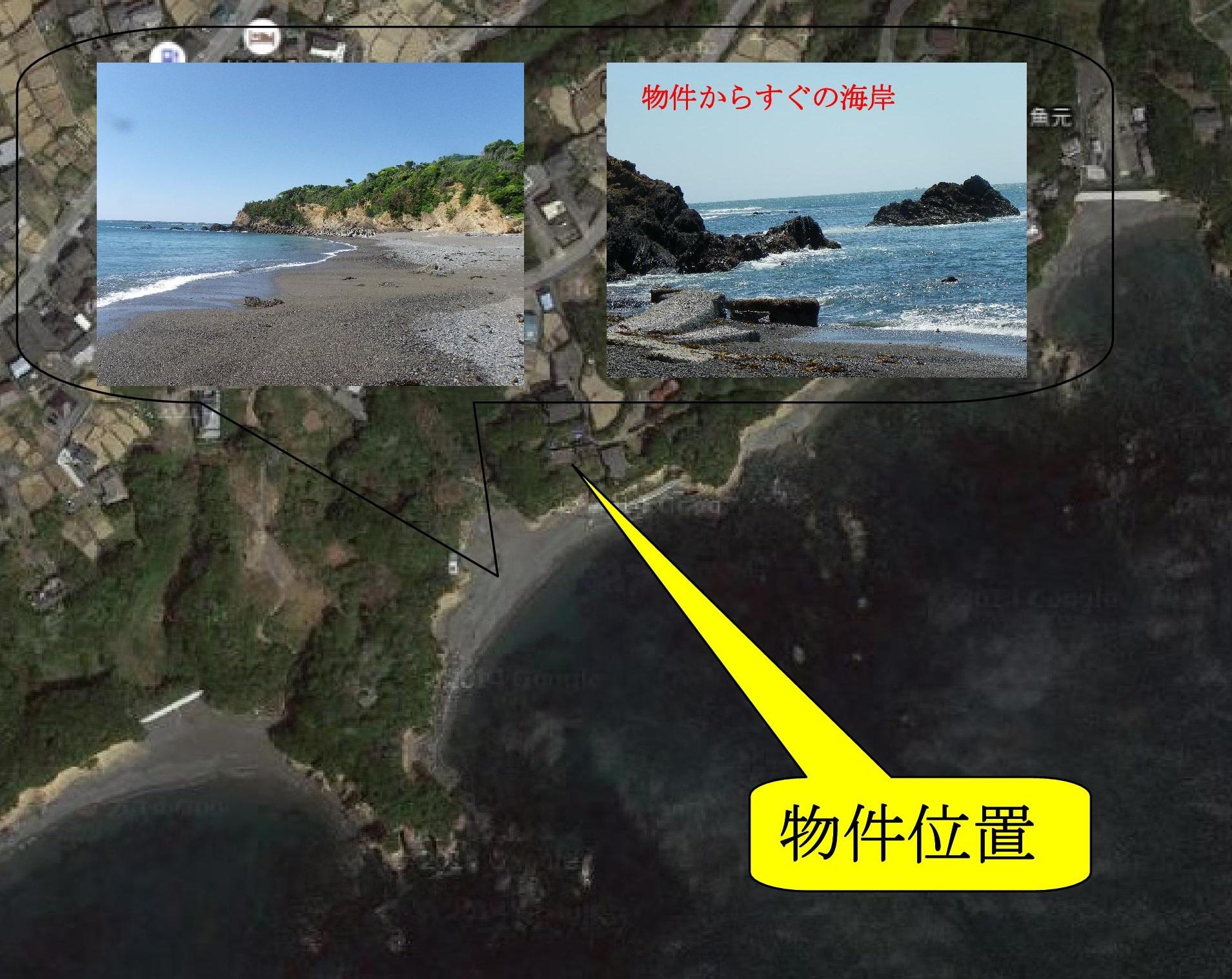 ◆絶景海岸すぐの海一望高台住宅建築可能用地◆ ◎絶景海岸すぐの海一望高台住宅建築可能用地◎