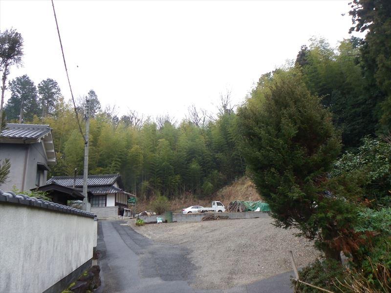 ◆茶筅の里・奈良高山 くろんど池望む、高台立地の田舎物件、周辺山林付き◆  ●茶筅の里・奈良高山 くろんど池望む、高台立地の田舎物件、周辺山林付き●